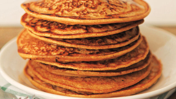 Vegan Recipe: Pumpkin Pancakes