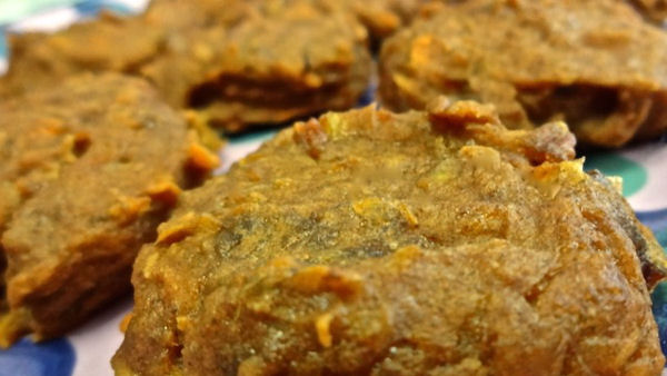 Vegan Recipe: Sweet Potato Banana Cookies