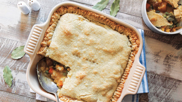 Vegan Recipe: Vegetable Pot Pie