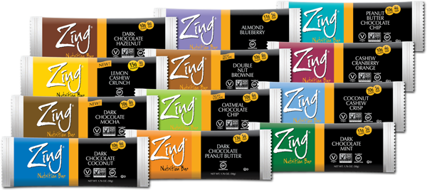 Zing Bars – A Healthier Snack for the New Year