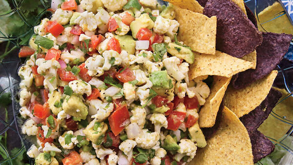 Vegan Appetizer Recipe: Landlocked Ceviche