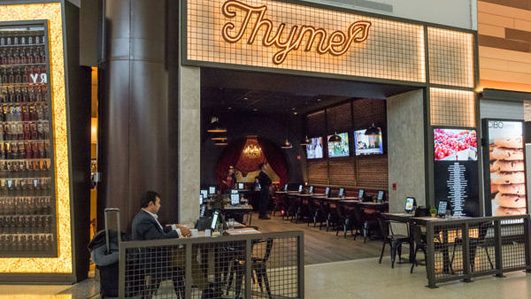 United Airlines Unveils 'Thyme' All-Veg Restaurant Concept