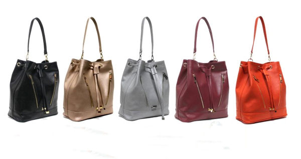 Pelican Bucket Bag by GUNAS New York is 100% Vegan