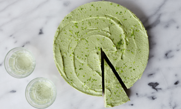 raw vegan lime cheesecake