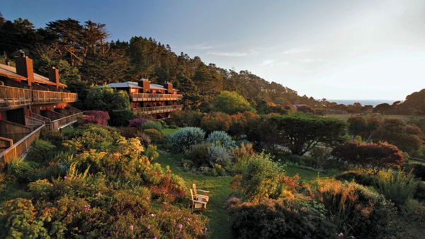 How two carnivores survived a vegan eco-resort in California