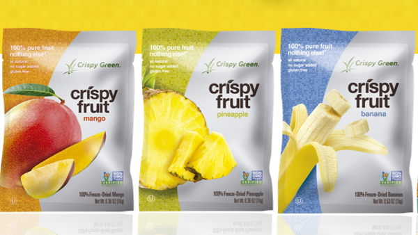 Spring Means Go Time! Take Along the #1 Freeze-Dried Fruit Brand, Crispy Green