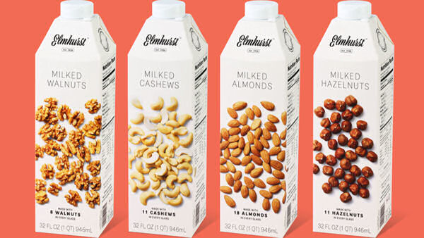 Elmhurst Ditches Dairy, Launches Plant-Based Milk Instead