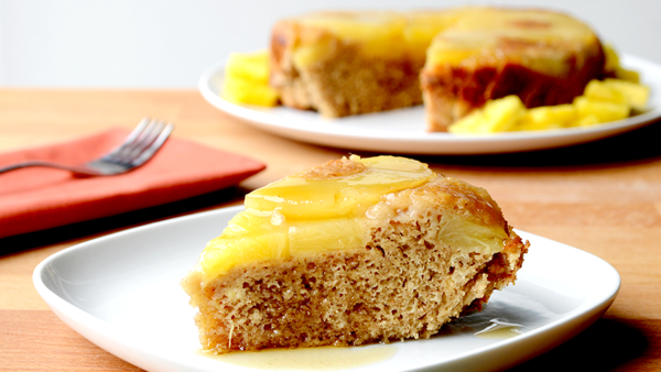 Vegan Dessert Recipe: Pineapple Upside-Down Cake