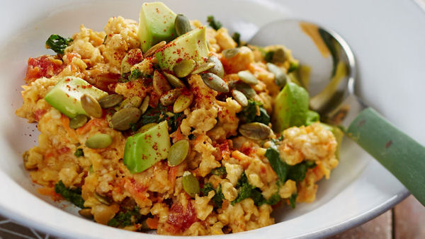 Vegan Breakfast Recipe: Savory Oatmeal