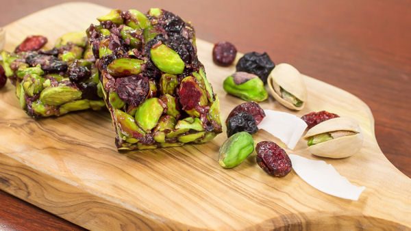 Setton Farms' NEW Pistachio + Blueberry Cranberry Chewy Bites