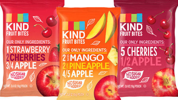 KIND Introduces Fruit Bites Perfect for Kids' Snacks