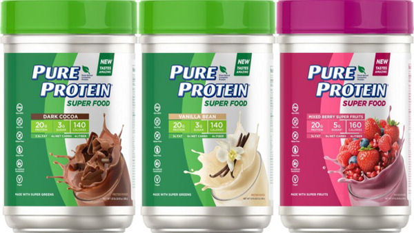Pure Protein canisters
