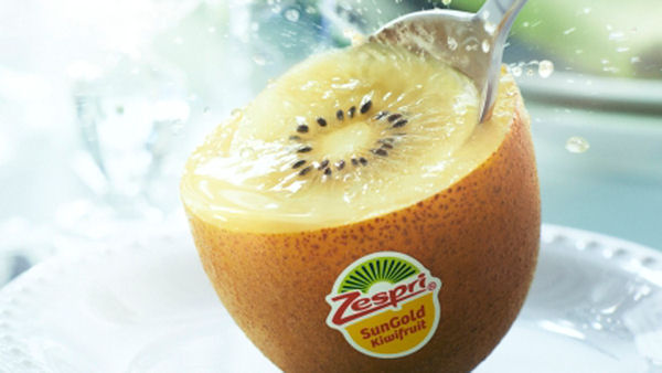 Zespri SunGold Kiwifruit Bursts with Juicy Tropical Flavor