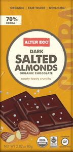 Alter Eco Dark Salted Almonds Bar