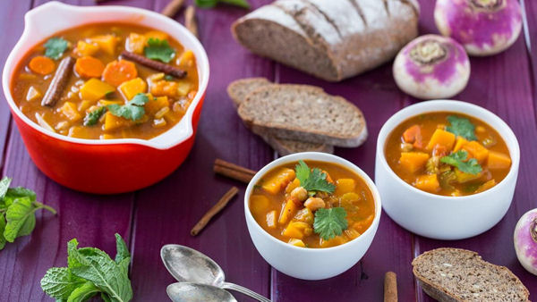Autumn Vegetable Soup