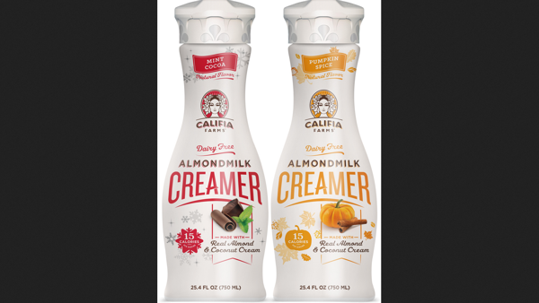 New for the Holidays: Festive, Plant-based Holiday Creamers