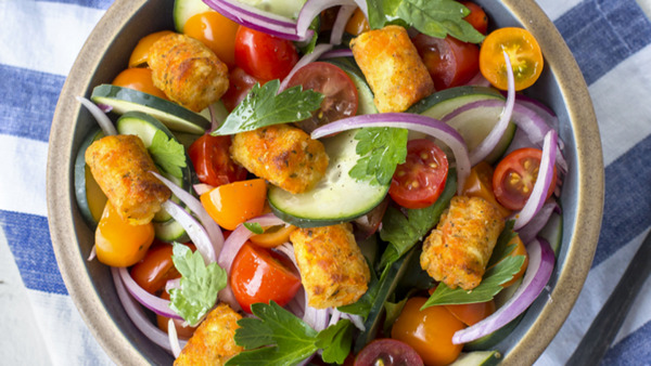 Recipe: Crispy Carrot Puff Salad
