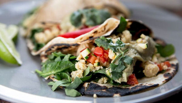 Vegan Recipe: Chickpea Tacos