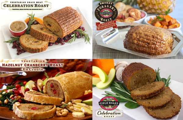 Vegan Grain Meat Roasts for the Holidays