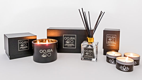Oojra Launches Soy Line of Slow Burning Luxury Candles