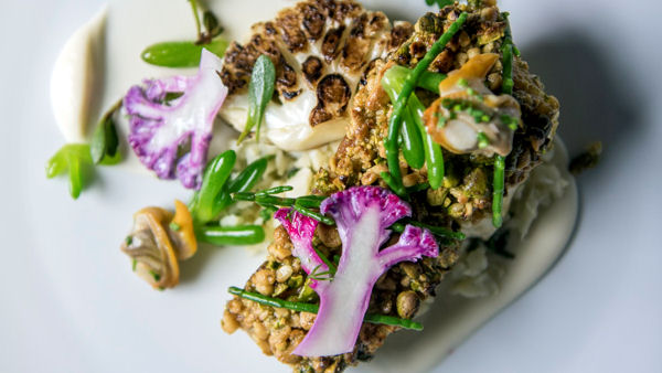 Luxury Hotels Offer Michelin-Quality Vegan Menus
