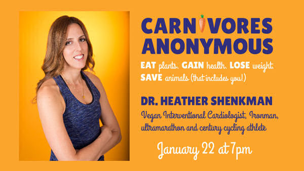Vegan Cardiologist Shares Heart Health Secrets at Carnivores Anonymous Event