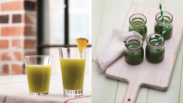 Recipes for National Green Juice Day, Jan 26th